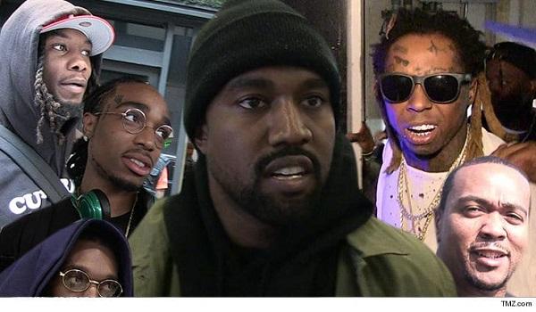 Kanye West: nieuw album met Migos, Lil Wayne en Timbaland? (via TMZ)