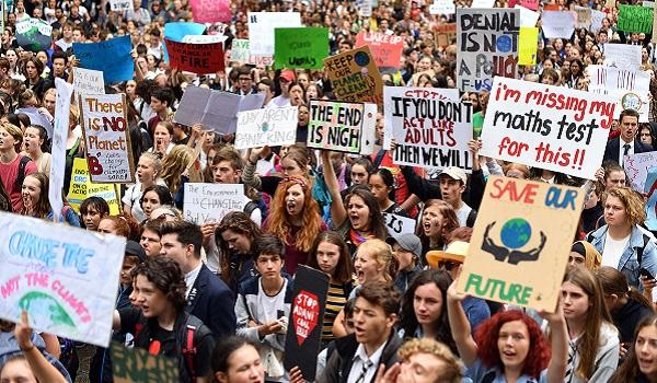 klimaatprotesten