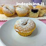 Muffin soffici panna e cioccolato