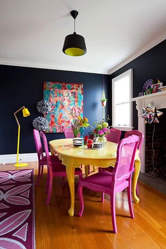 Trend Colors Modern Dining Room Design 4 Interior Decor