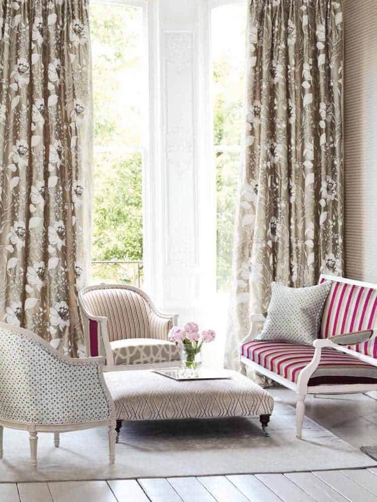 Trends 2019 for Living Room Curtains  Practical Sheet and