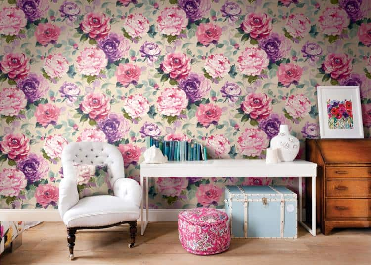 3d Effect Wallpaper For Living Room Wallpaper Trends 2019 A Meeting Of Refinement And