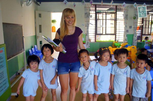 Kindergarten English Teacher China