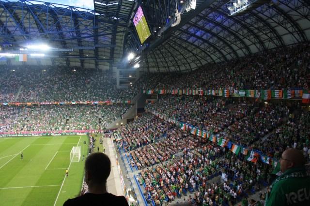 Ierland-Italië, Poznan