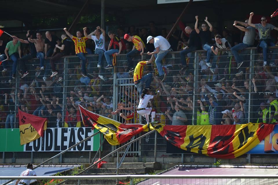 Go Ahead Eagles in de hekken Venlo 3