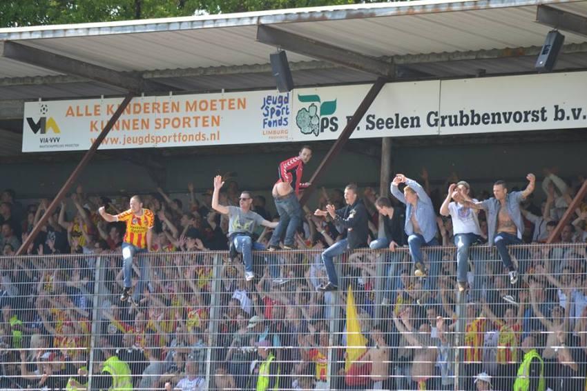 Go Ahead Eagles in de hekken Venlo