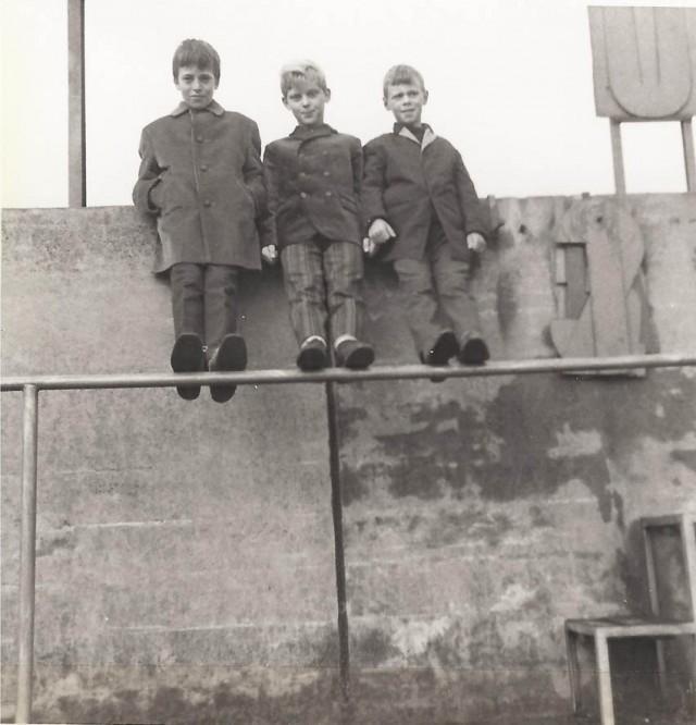 1965-jeugd in het stadion