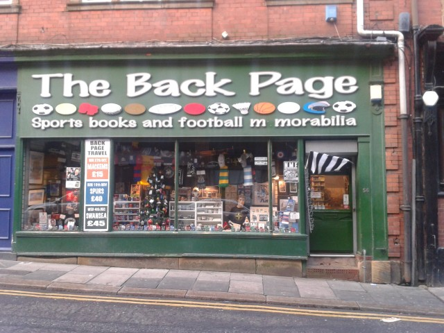 the back page newcastle