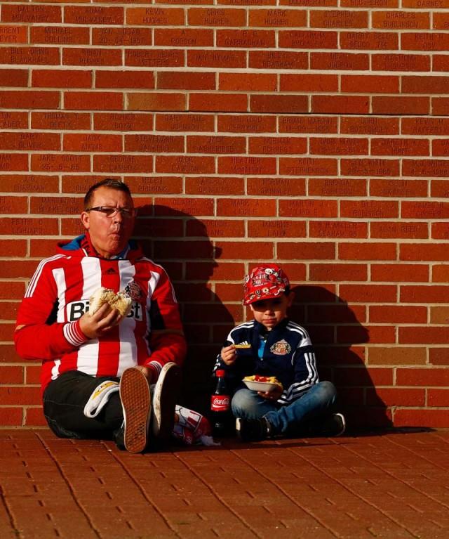 vaders en zonen voetbal