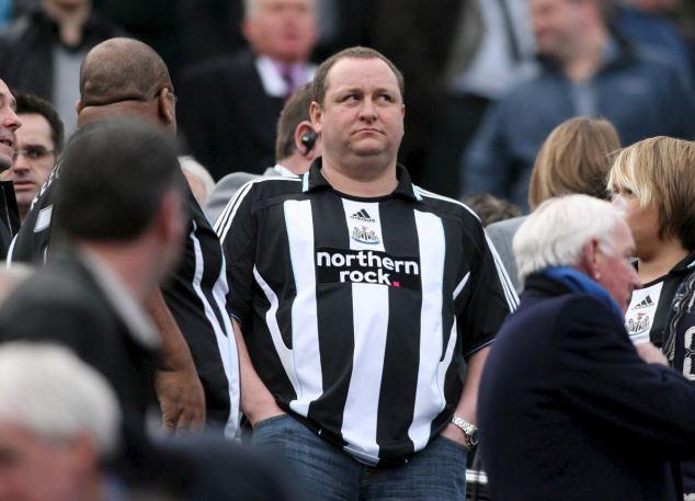 Treurige supporter in de Premier League