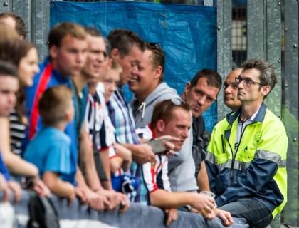 Geen politie bij Willem II - Vitesse door poitiestaking