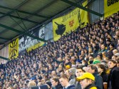Een record aantal toeschouwers voor de Eerste Divisie bezochten de wedstrijd