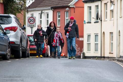 Exeter City is een familieclub en de sterke band met de stad en de fans zie je overal in het stadion terug