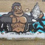 Ludieke Graffiti oorlog: Bokito