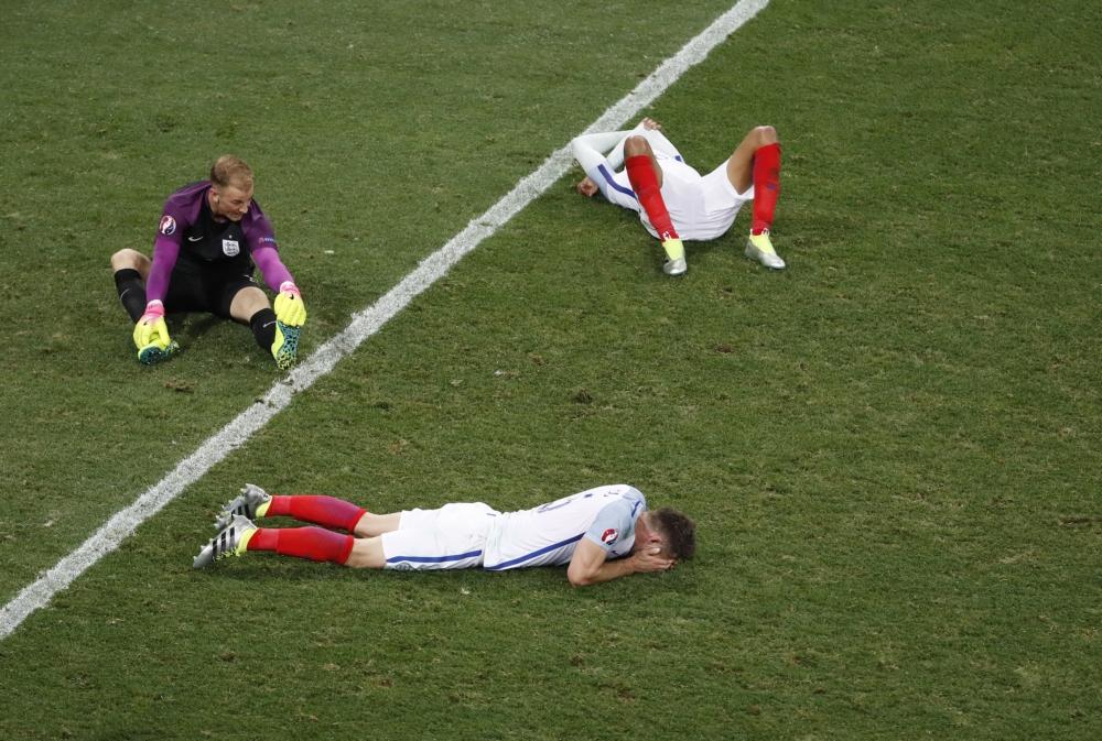 Engelse teleurstelling na de nederlaag tegen IJsland