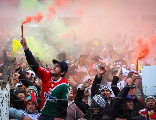 Fans van União Frederiquense's (União Frederiquense - Avenida)