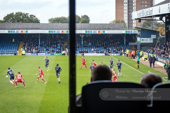 Wedstrijdmoment Southend United FC - Chesterfield FC