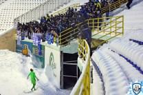 De spelers van Dynamo Kiev bedanken hun fans, voor de support en al het werk. Foto afkomstig van http://wbc.kiev.ua/