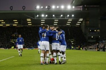 Everton wint uiteindelijk met 3-0. Foto: Pro Shots / Action Images