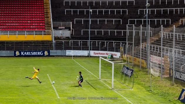 Voetbal voor lege tribunes, ooit keken 31.000 man naar wedstrijden van Borussia Neunkirchen