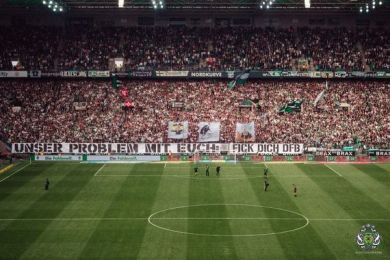 Borussia Mönchengladbach Bron: nordkurvenfotos.de