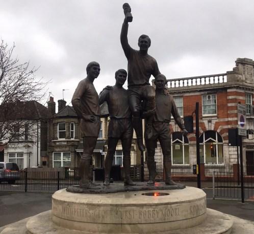 West Ham standbeeld
