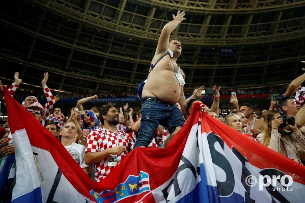 Kroatie won van Engeland en dat leverde schitterende beelden op in Zagreb