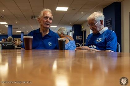Op naar The Match: Twee oudere heren hebben hun voorbespreking