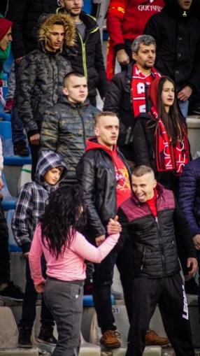 Ultras Guerrils op de tribune