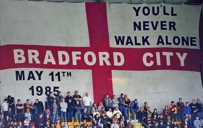 Gedachtenis aan de De Bradford City-stadionramp