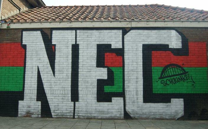 NEC graffiti