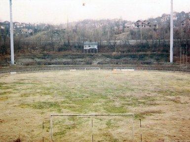 In de Hekken - Grbavica Stadium of FK Zeljeznicar after the war