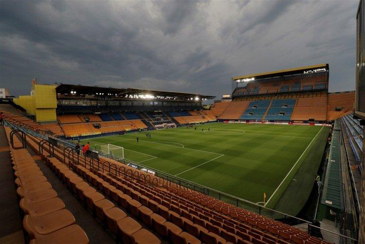 Het prachtige stadion van Villarreal zal leeg blijven tijdens Villarreal-Atletico