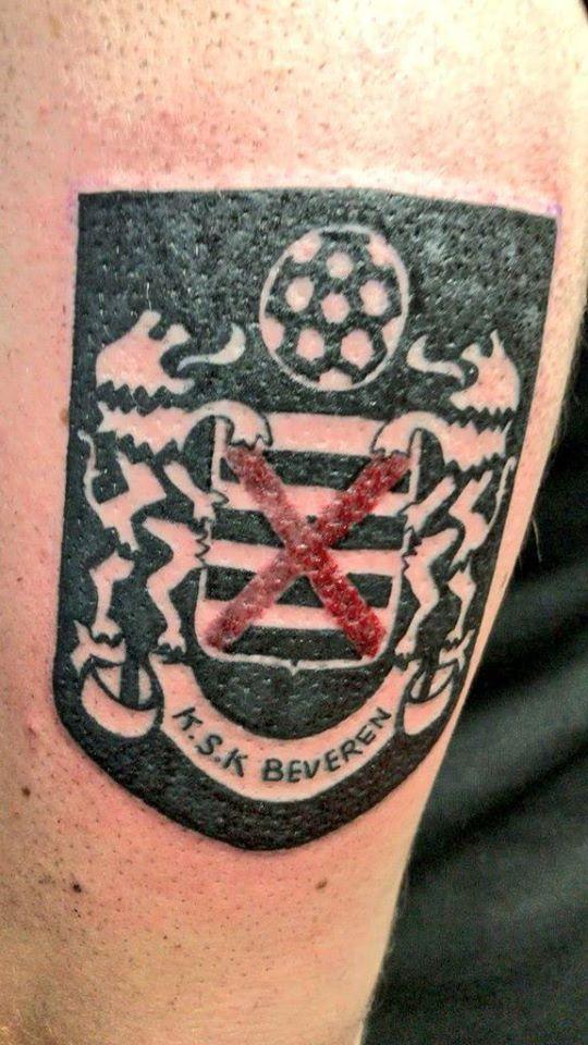 YBSK Beveren tattoo