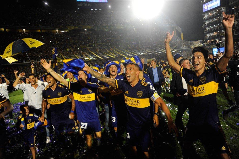 Boca Juniors werd kampioen dankzij een doelpunt van Carlos Tevez