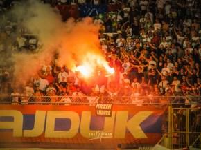 Hrvatski Derbi: de clash tussen Hajduk Split (Torcida) en Dinamo Zagreb (Bad Blue Boys)