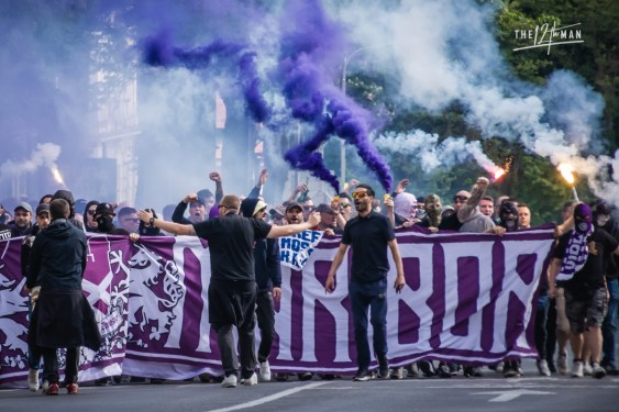 Slovenski Derbi: de klassieker tussen NK Maribor (Viole Maribor) en Olimpija Ljubljana (Green Dragons)