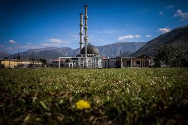 Een amateurveldje in Mostar, Bosnië