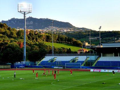 Foto Ronald Schutte: het landschap van San Marino