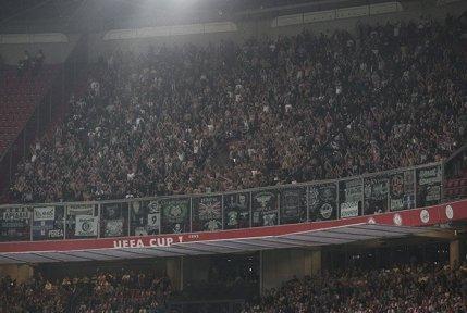Het uitvak in de Johan Cruijff Arena.