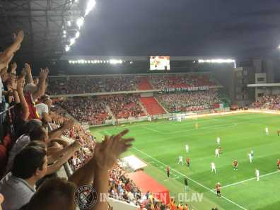 Spartak Trnava - Legia Warschau