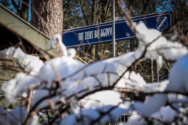 Uitgang van AGOVV Apeldoorn