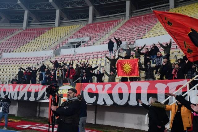 In de Hekken - FK Vardar - Komiti Ultras