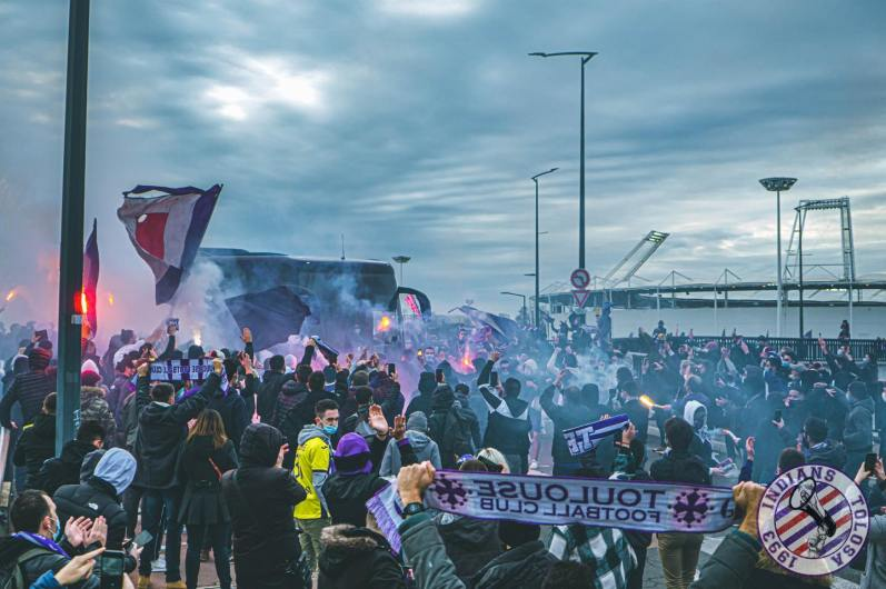 Toulouse - Grenoble (via Indians Tolosa).