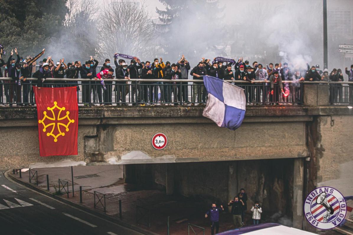 Toulouse - Le Havre (via Indians Tolosa).