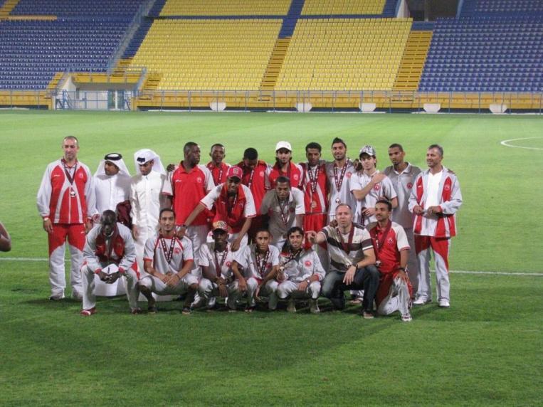 Remco Boere als trainer in het Midden-Oosten