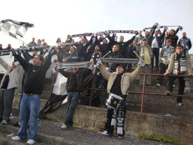 Supporters van Petrzalka (via Martin Štvrtecký en ultras.sk).