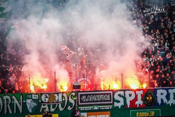 In de Hekken - Wiener Derby - Rapid v Austria
