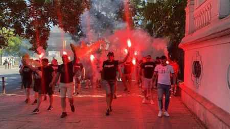 No Pyro No Party (foto via Hungary Ultras).