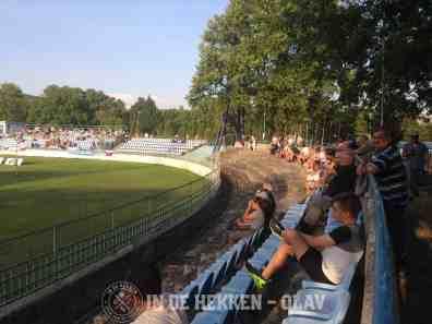Het oude Stadion Pod Zoborom.